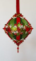 Garland Closeup Ornament